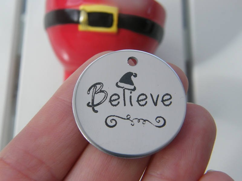 1 Believe stainless steel pendant JS2-5