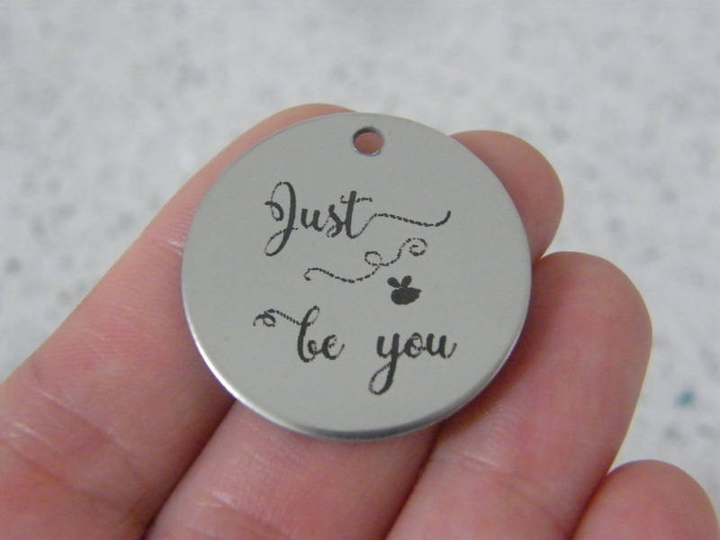 1  Just be you stainless steel pendant JS2-37
