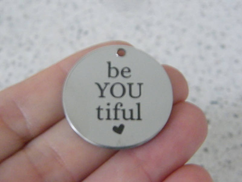 1 be You tiful stainless steel pendant JS6-1