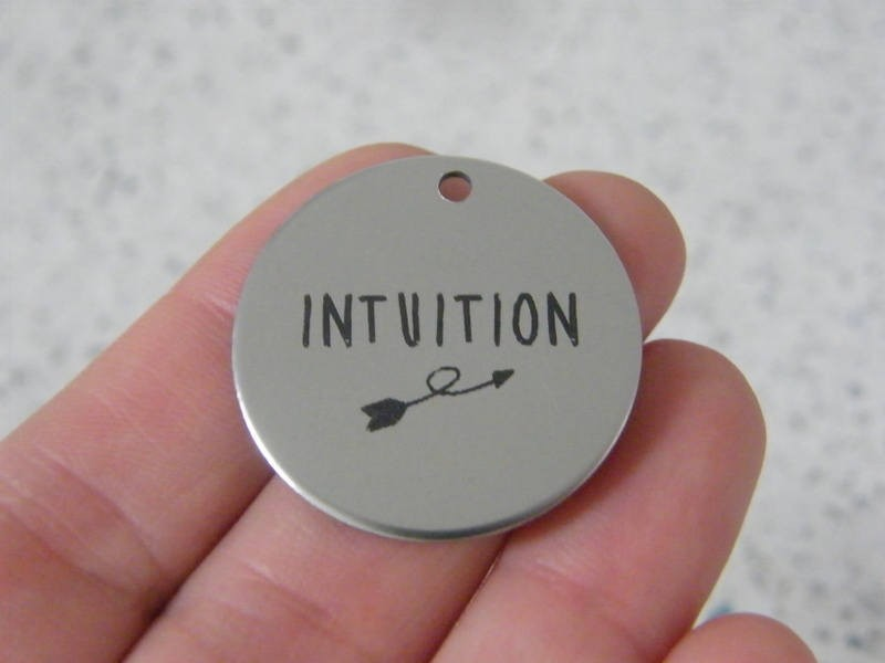 1 Intuition stainless steel pendant JS5-40
