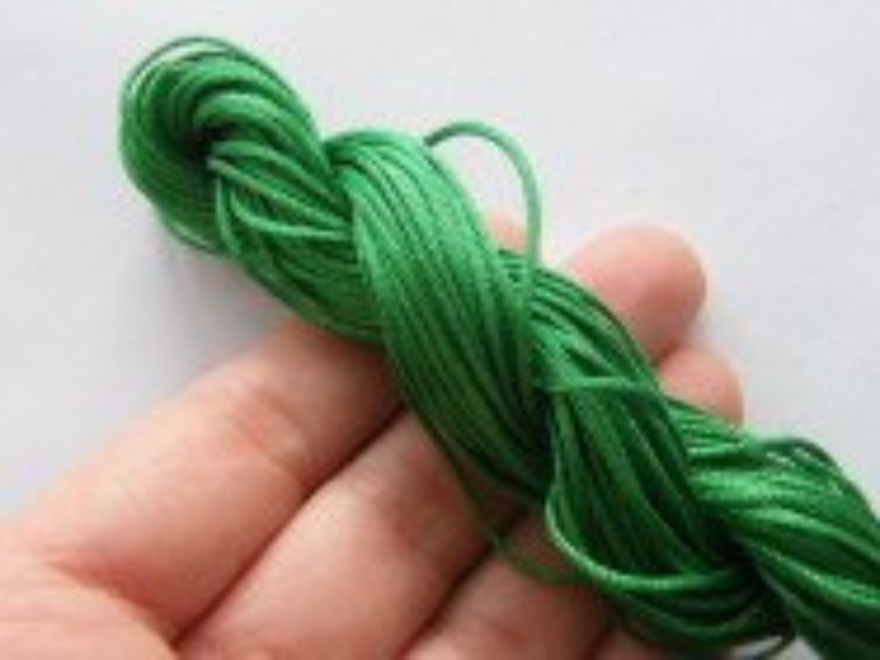 12 Meter dark forest green  nylon string 2mm thick  FS170
