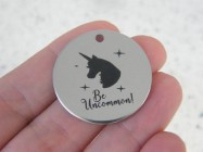 1 Be Uncommon! stainless steel pendant JS4-16
