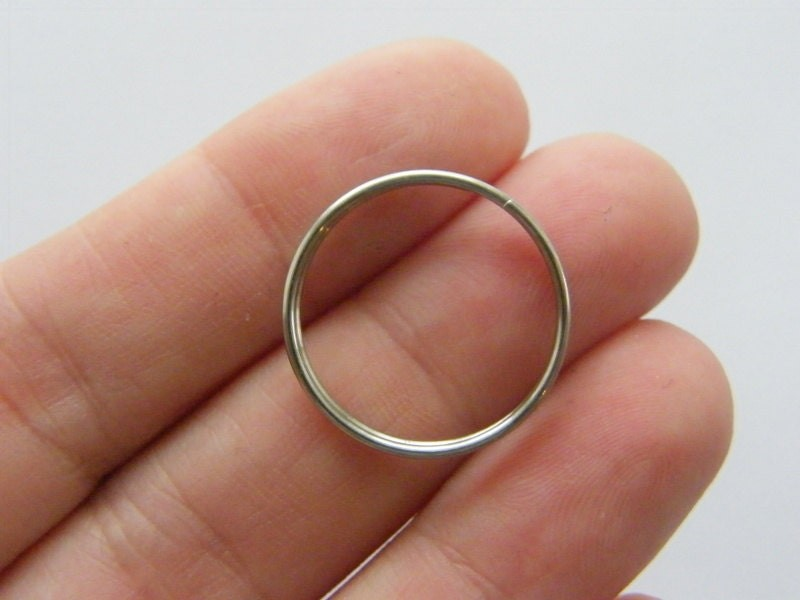 30 Split rings 20mm 304 stainless steel FS390