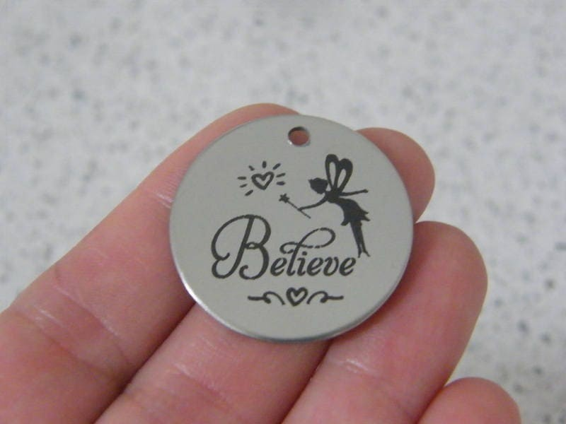 1 Believe stainless steel pendant JS2-29