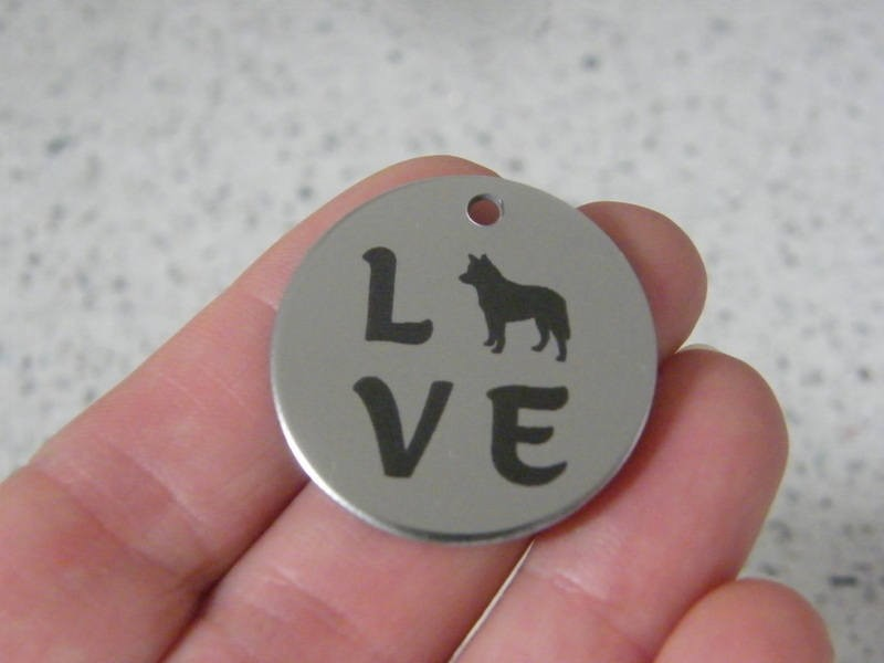 1 Love stainless steel pendant JS4-30