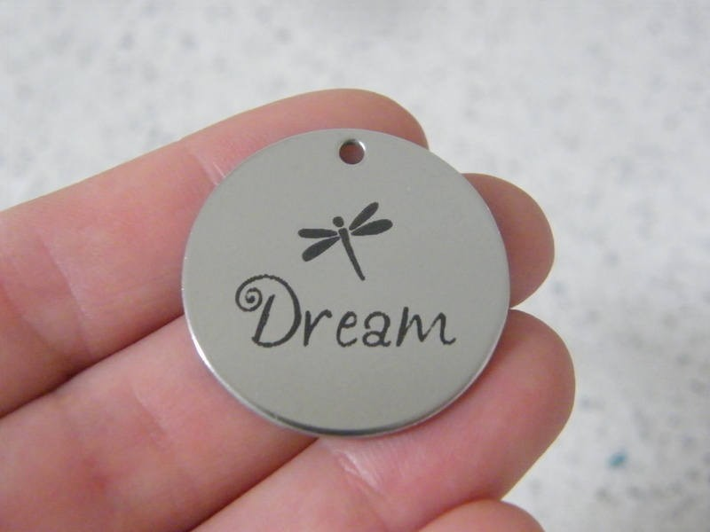 1 Dream stainless steel pendant JS3-26