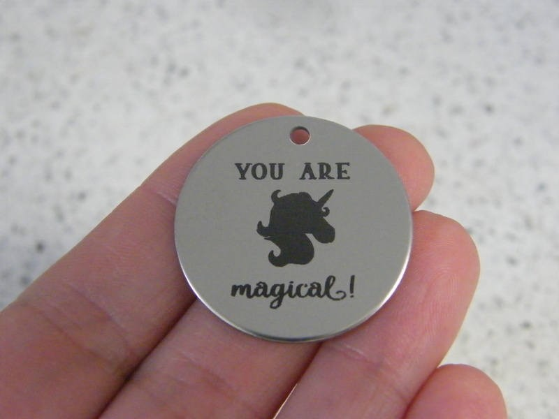 1 You are magical ! stainless steel pendant JS4-12