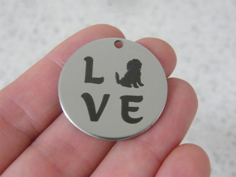 1 Love stainless steel pendant JS4-29