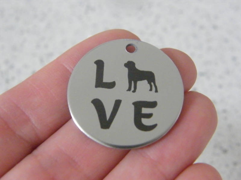 1 Love stainless steel pendant JS4-28