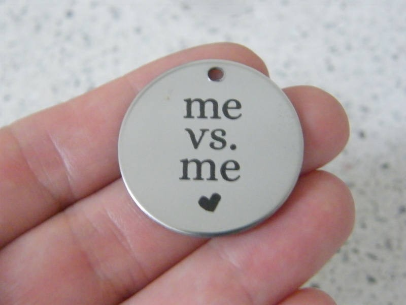 1 me V me stainless steel pendant JS5-45
