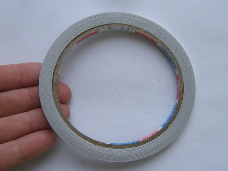2 Roll double sided tape 9.7cm x 0.5cm TP48