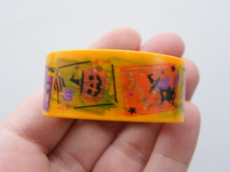 1 Roll Halloween washi decorating tape 20mm  4 Meter ST6