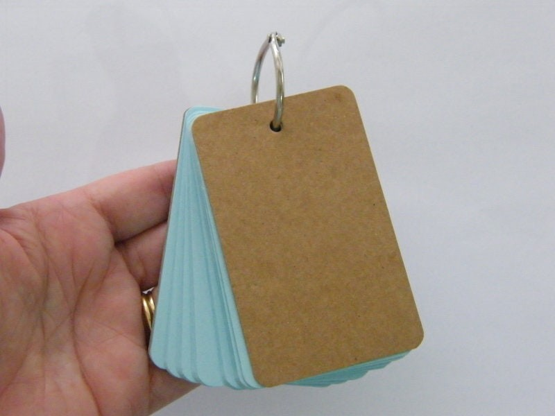 1 Blue note pad pendant ST2