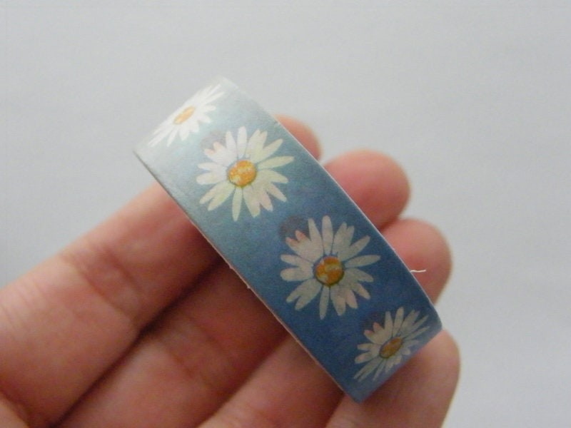 1 Roll daisy flower gradient colour washi tape ST