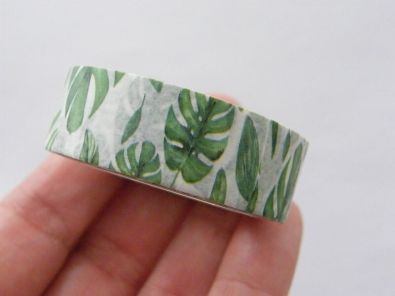 1 Fern leaf washi tape ST