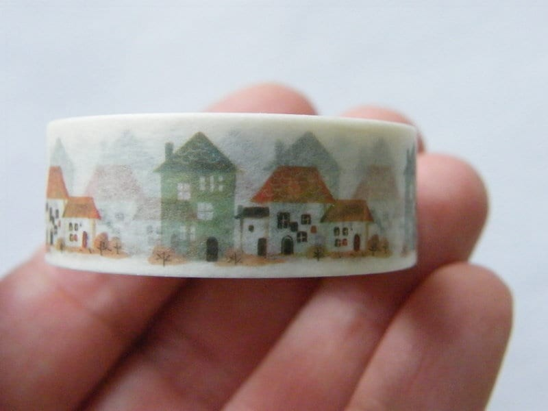 1 Roll houses washi tape ST