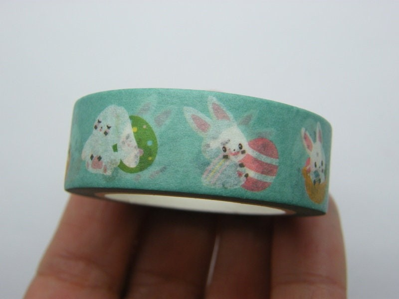 1 Easter bunny egg  washi tape ST