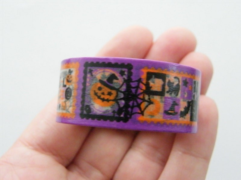 1 Roll Halloween washi decorating tape 20mm  4 Meter ST4